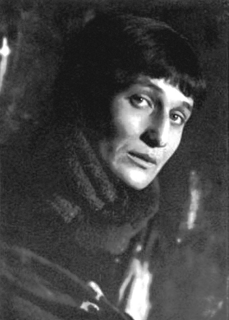 Анна Ахматова. 1920.