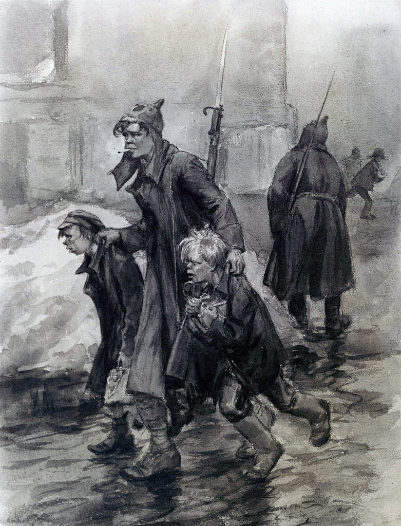 1920. Два мальчика арестованы за кражу