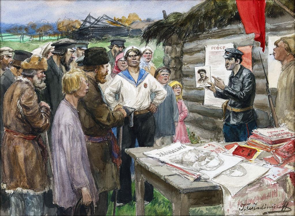 1922. Урок коммунизма для крестьян