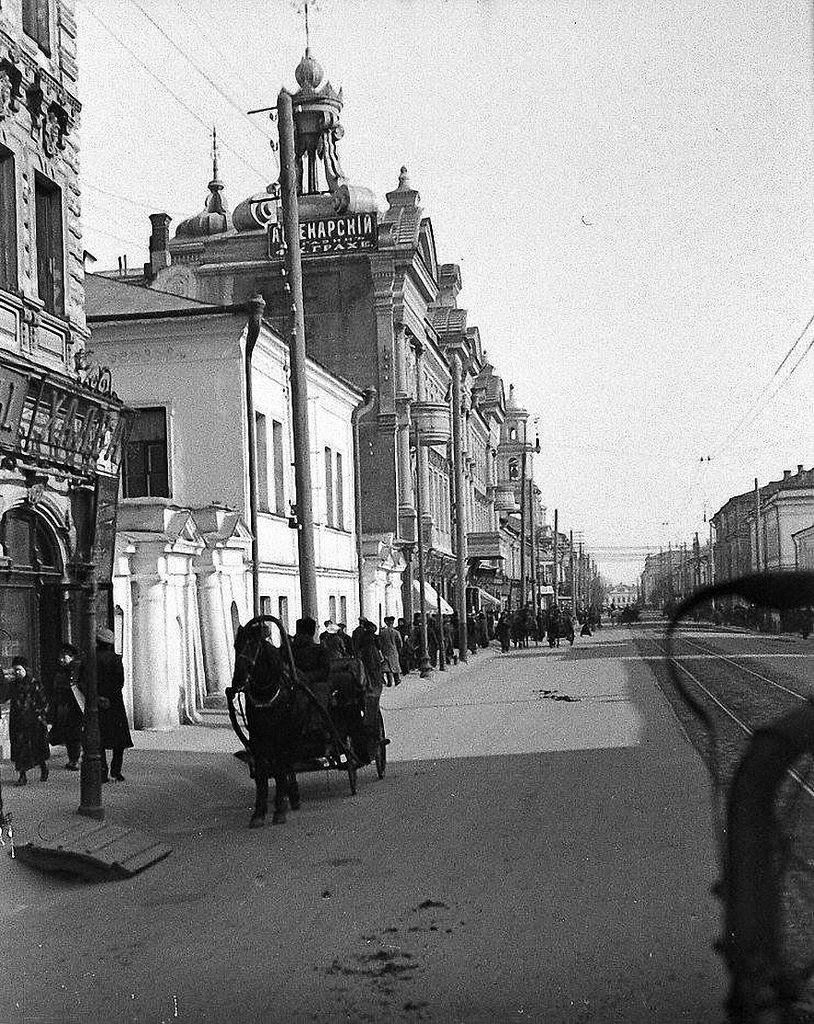 Александровский и Чернояровские пассажи. 1910-е