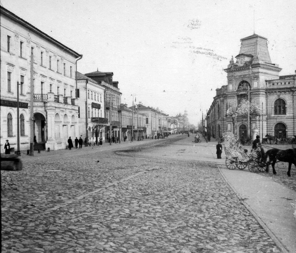 Гостиный двор и городская управа. 1910-е