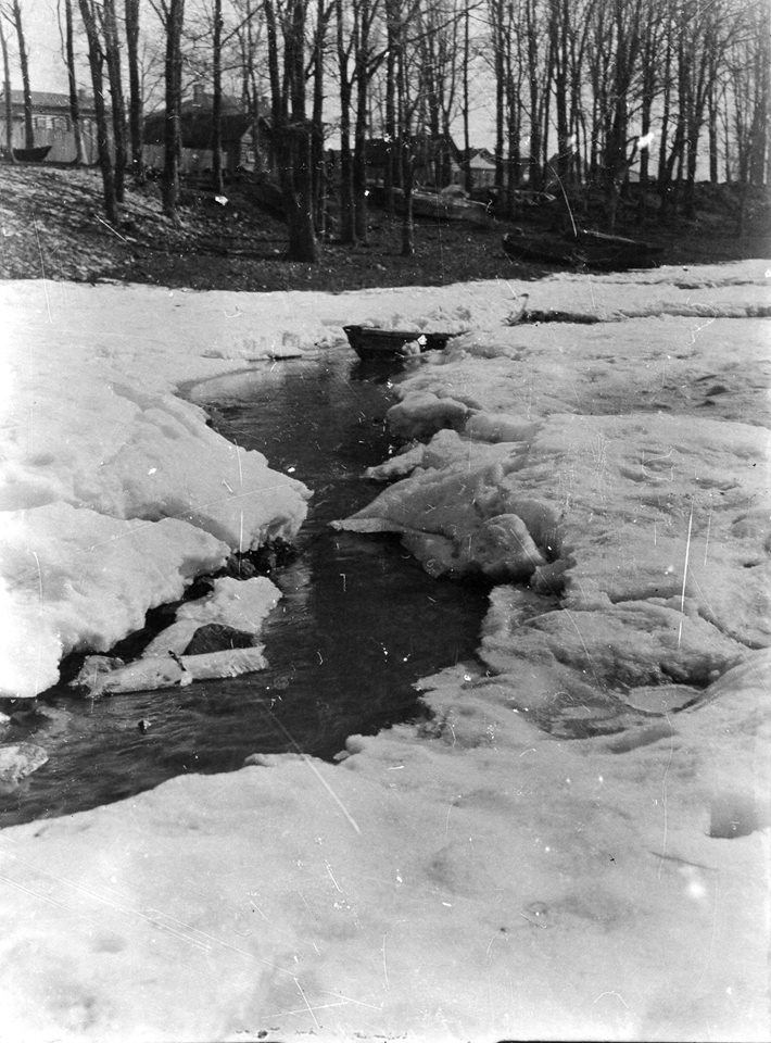 Зимний пейзаж. 1910-е годы