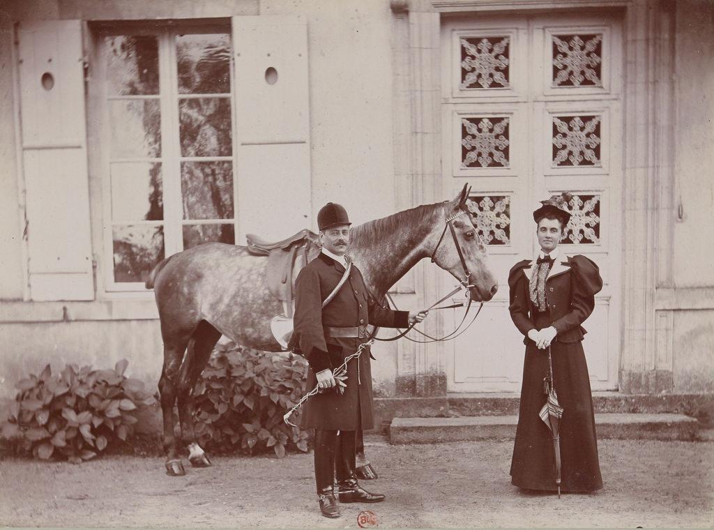 Граф и графиня Gicquel des Touches