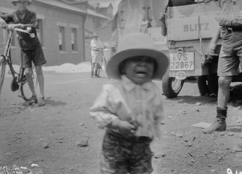 Солсбери. Портрет маленького мальчика в шляпе