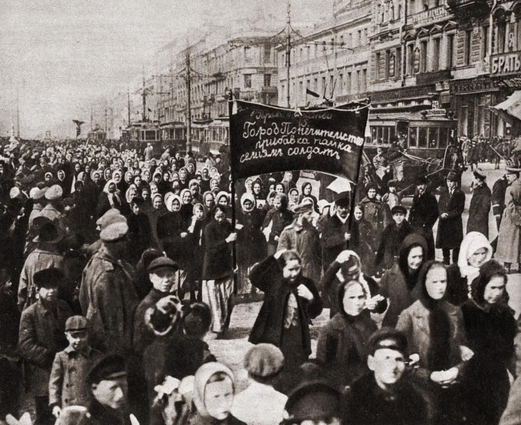 Демонстрация солдатских жён