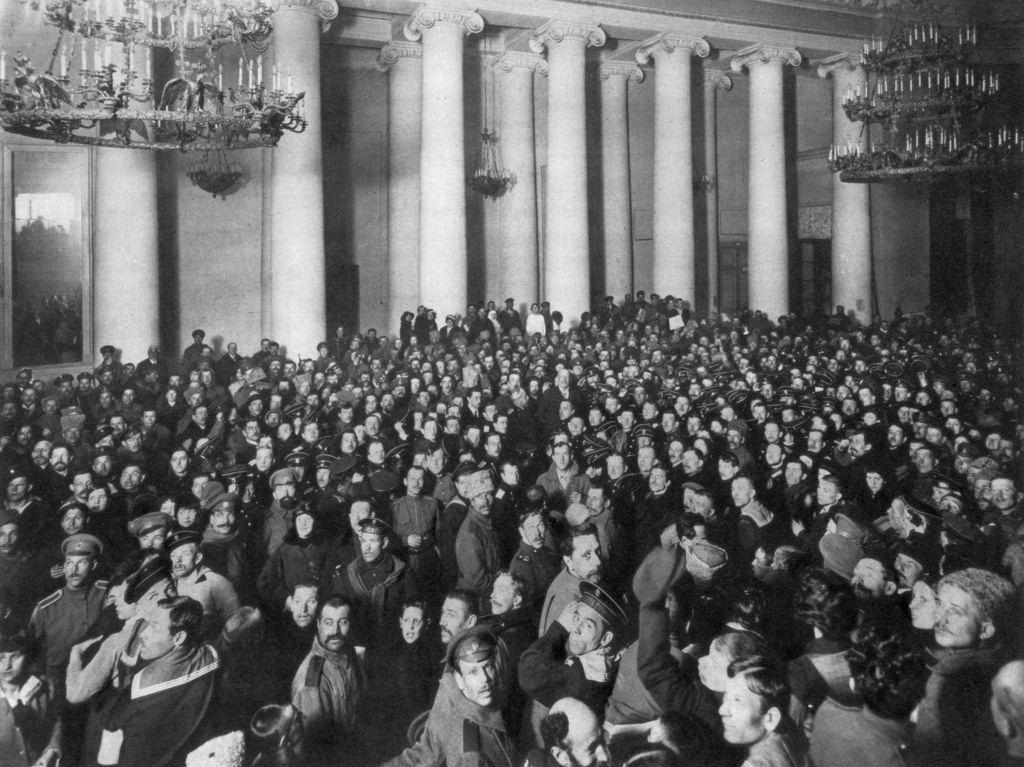 Петроградский Совет рабочих и солдатских депутатов, Таврический дворец
