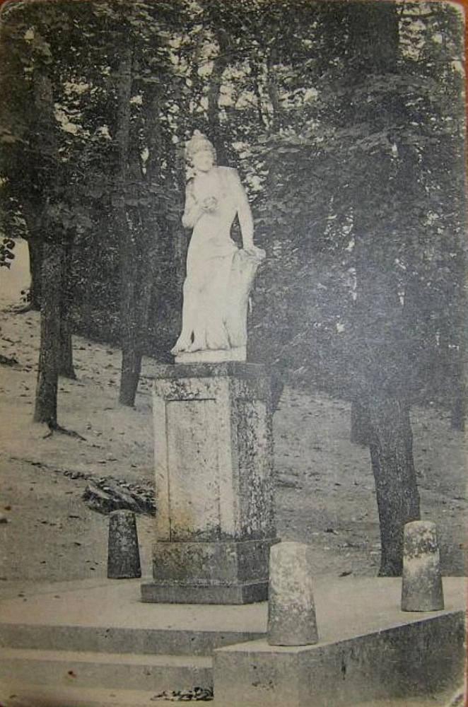 Парк Софиевка. Скульптура Парис