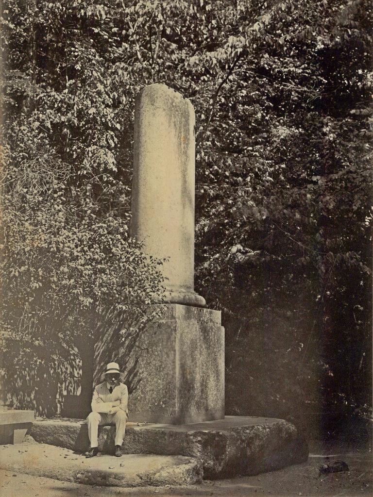 Парк Софиевка. Сломанная колонна (колонна печали)