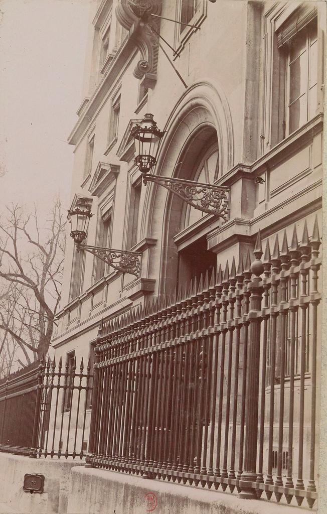 Бургундская улица. Министерство иностранных дел