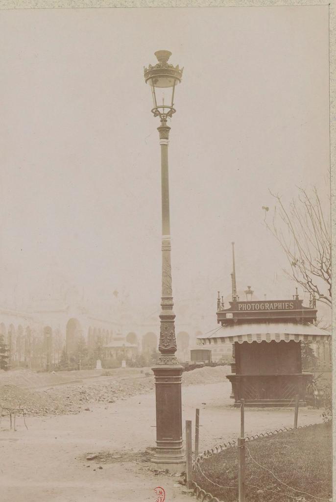 Выставка 1900 года. Центральная аллея