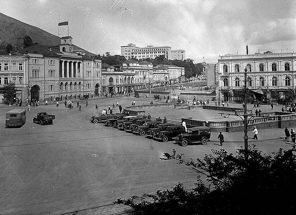 1935. Тифлис. Площадь Ленина. Вид с юго-востока