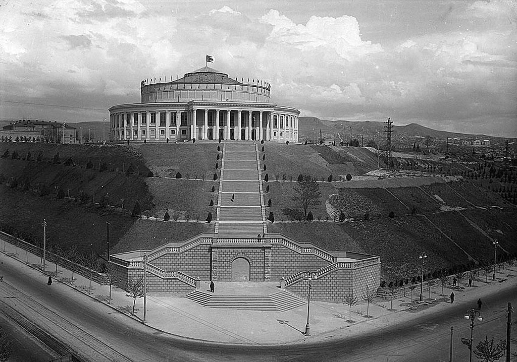 1938. Государственный цирк.