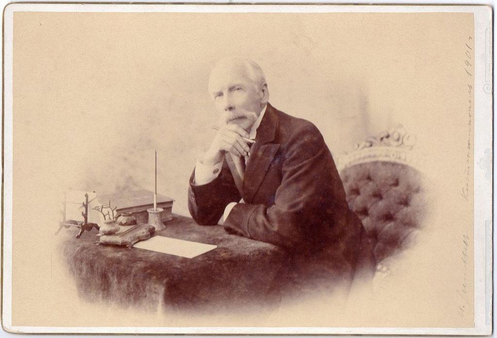 1901. Посол России в Турции Иван Зиновьев. Константинополь