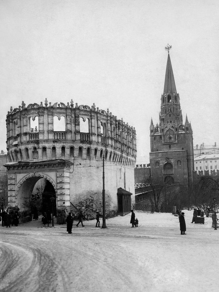 Кутафья башня и Троицкие ворота