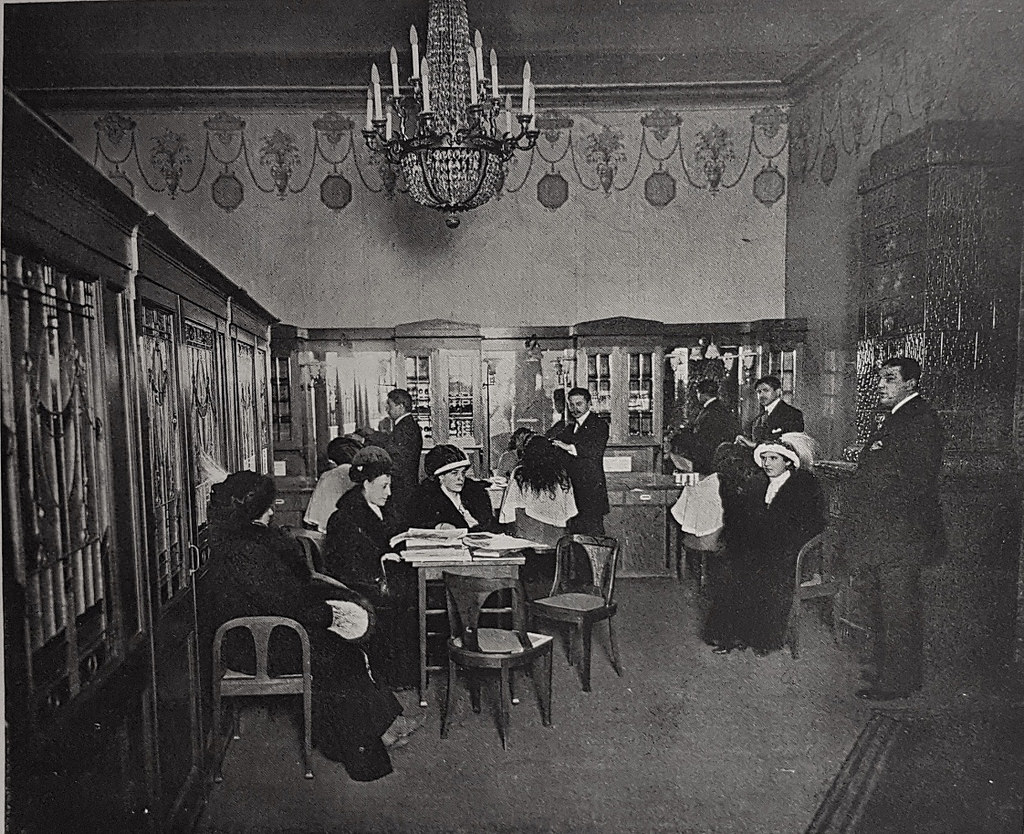 1915. Петроград. Салон-парикмахерская «Поль»