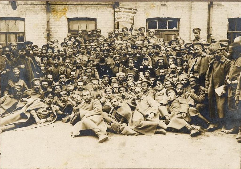 1917. Фото солдат и офицеров Российской Императорской армии