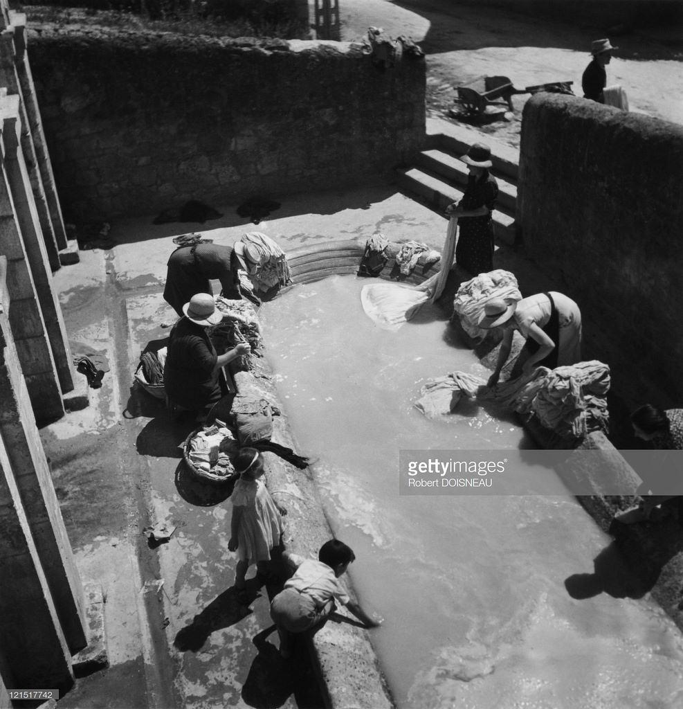 1937. Стирка белья в Дордоне