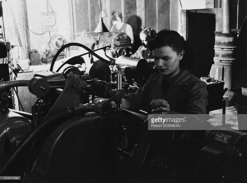 1950. На ткацкой фабрике