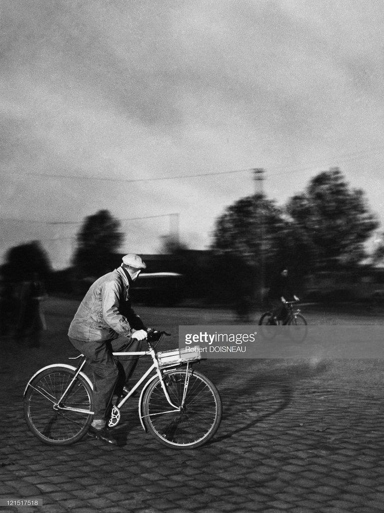 1950-е. В пригороде Парижа