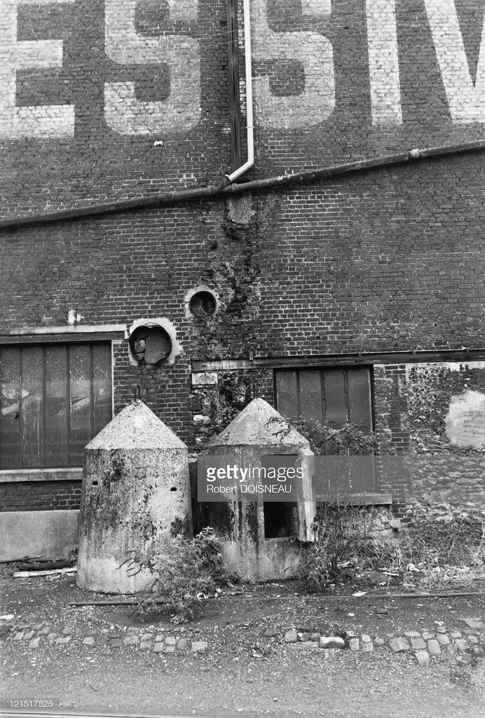 1950-е. Фабрика в Сен-Дени
