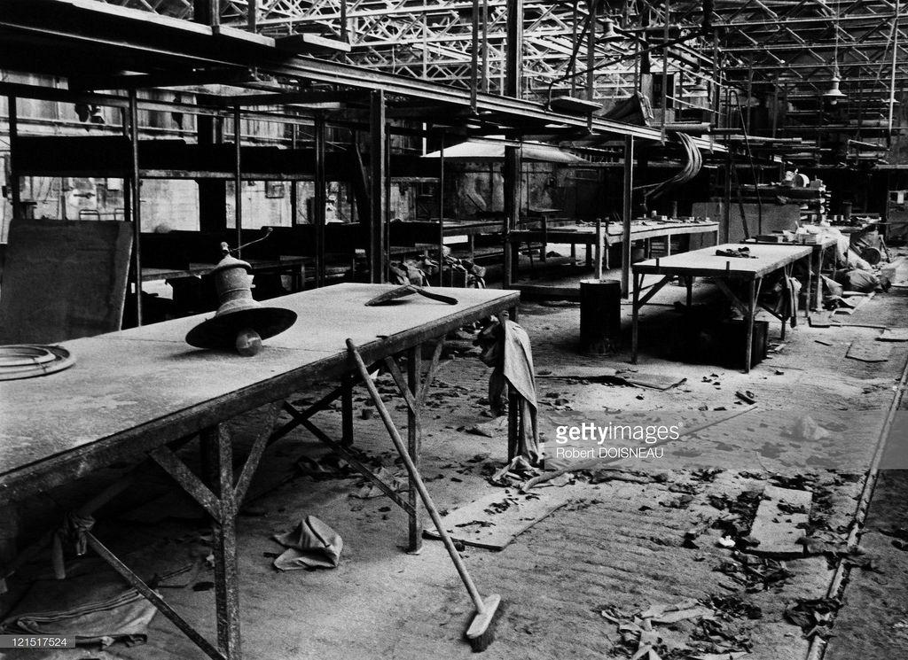 Заброшенный завод в Сен-Дени