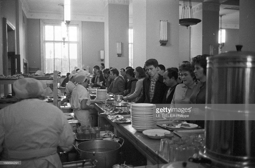 1963. В столовой МГУ
