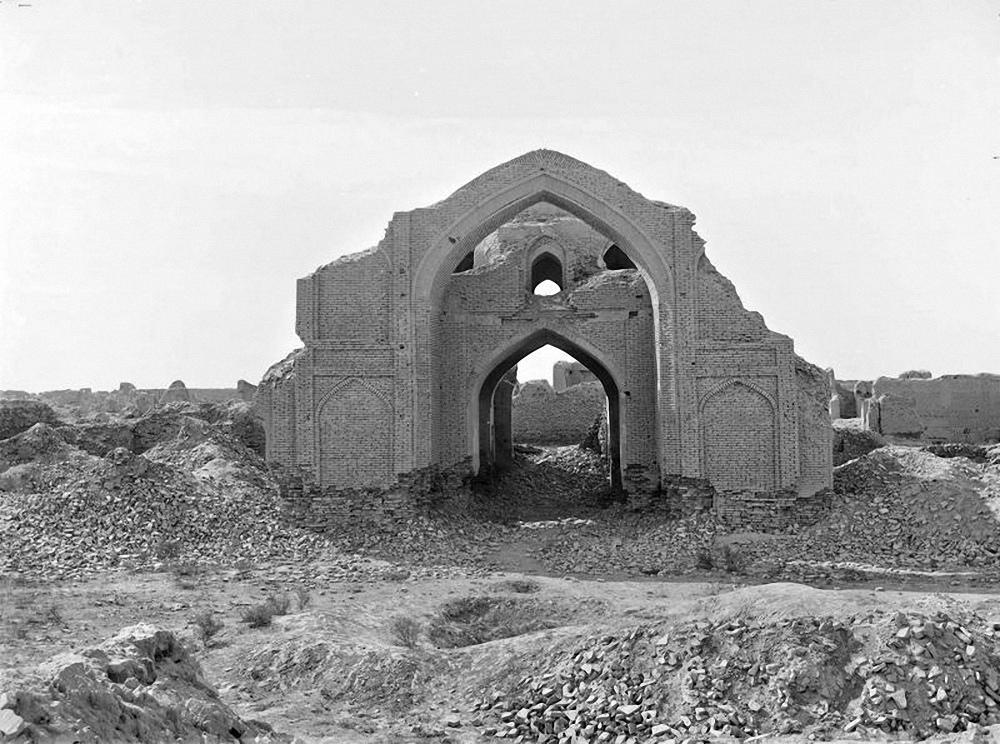 Абдулахан-кала. Восточная стена мечети.