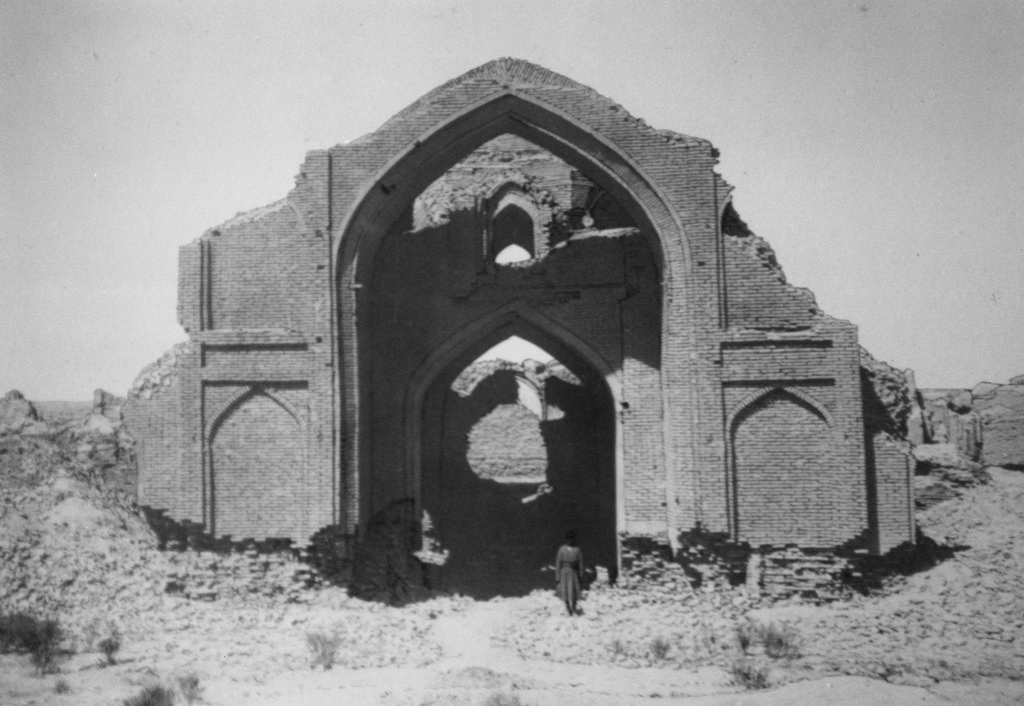 Абдулахан-кала. Восточная стена мечети