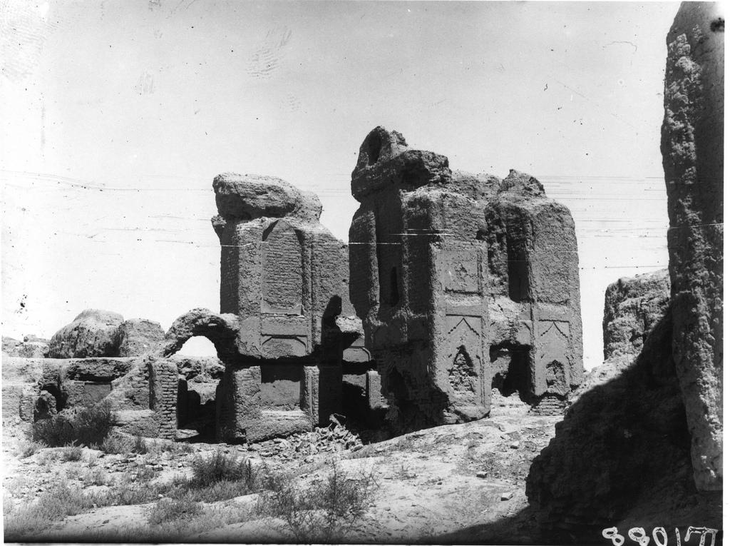 Абдулахан-кала. Северный фасад дворца правителя