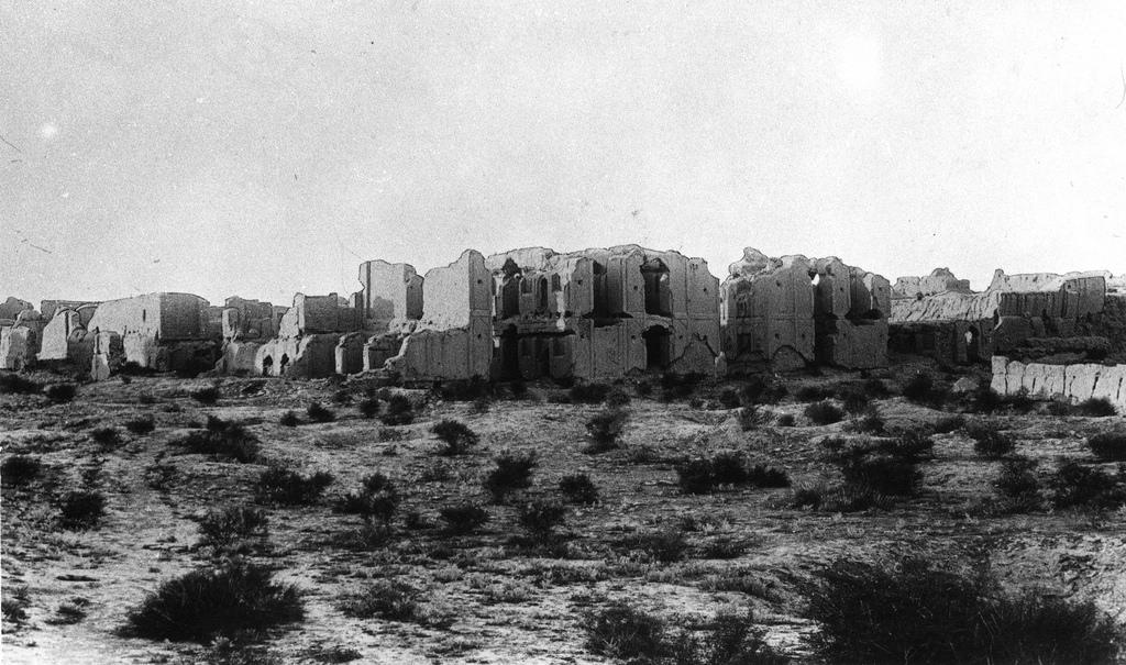 Абдулахан-кала. Строения в цитадели - дворец правителя