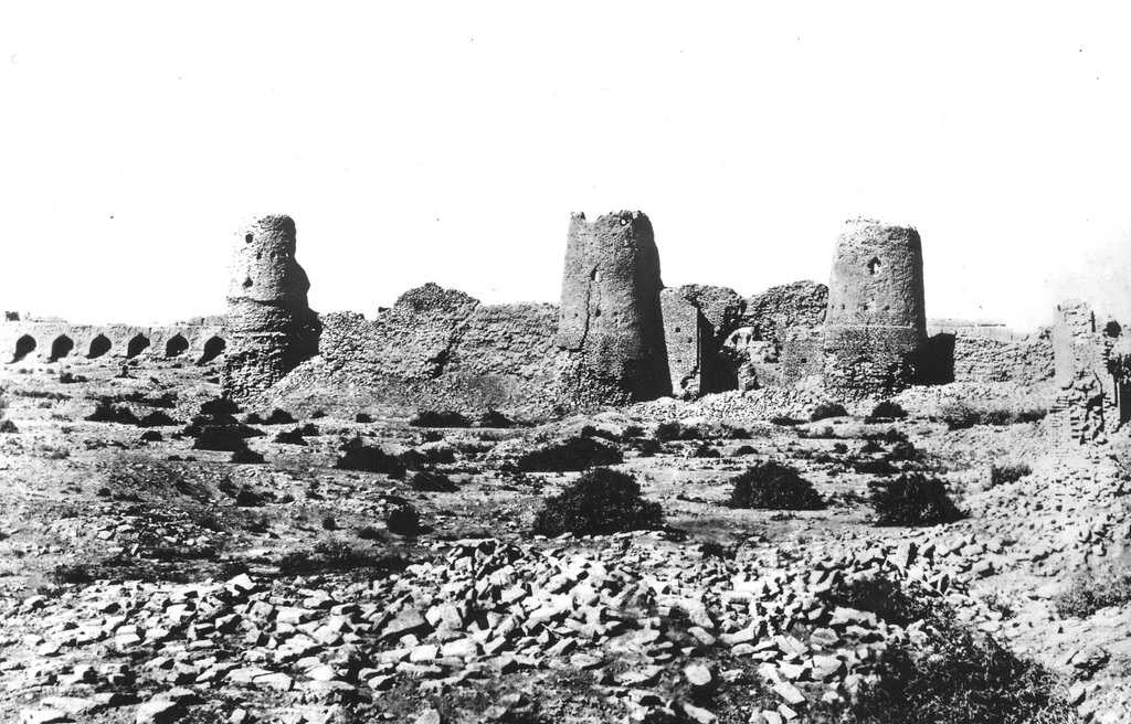 Абдуллахан-кала. Дворец правителя. Южная стена цитадели