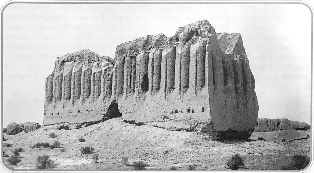 Кептер-хана в Шахрияр-арке. Восточный и северный фасады