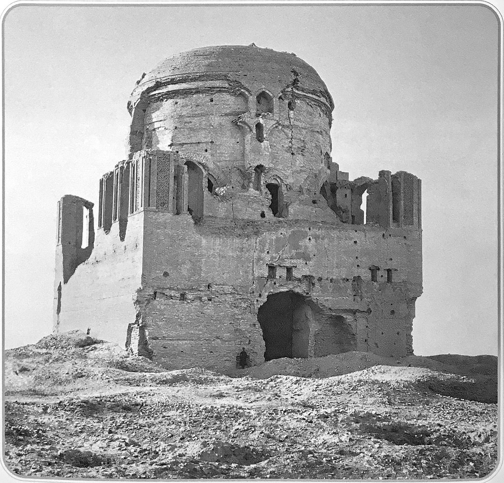 Мавзолей султана Санджара с юго-востока
