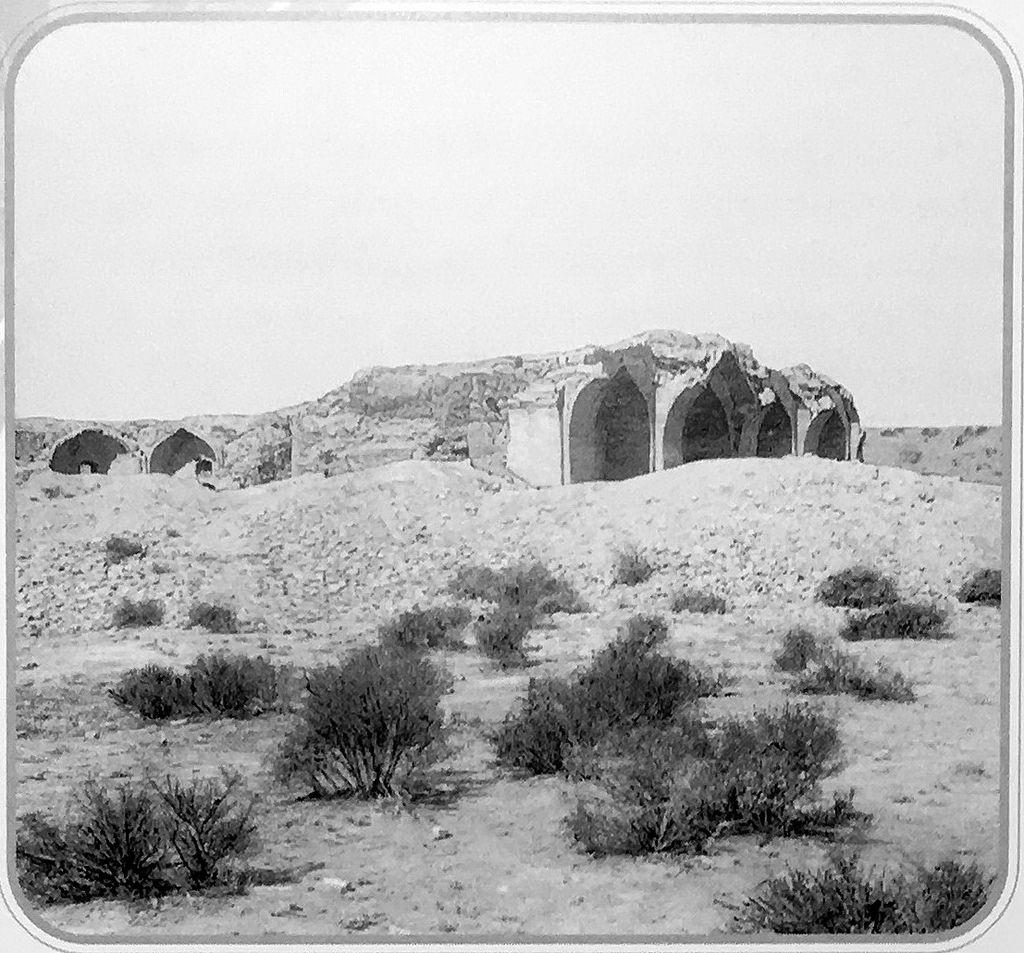 Остатки медресе Ходжагельды Ахун-баба. Общий вид