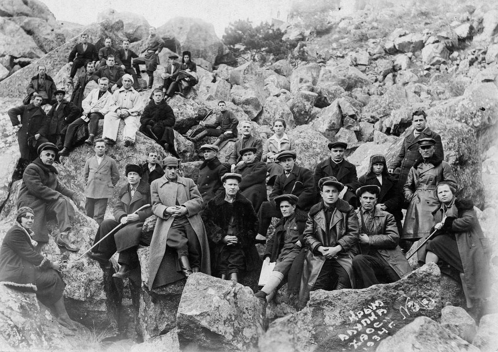 1934. Крым, Алупка
