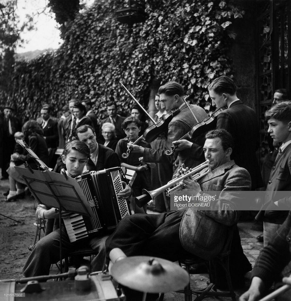 1950-е. Оркестр, Париж