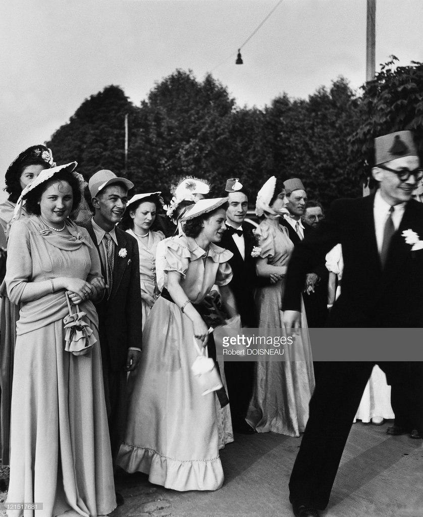 1950-е. Свадьба в провинции