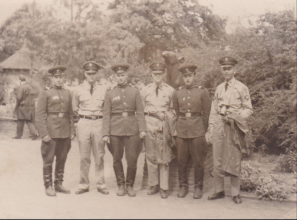 1964. Берлин. Крепим дружбу с американскими офицерами