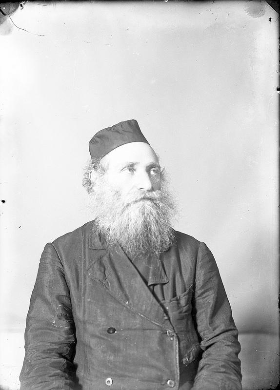Галичский раввин. 1915