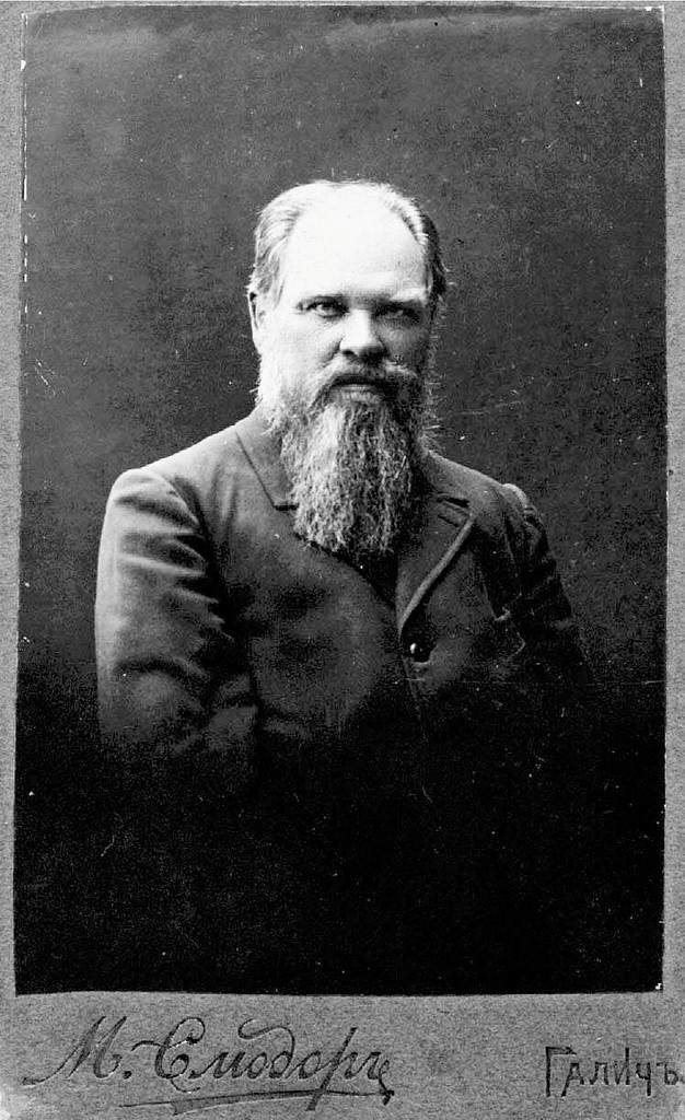 А.А. Калинкин, кожзаводчик в Шокше. 1914