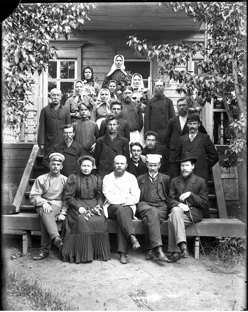 Групповое фото. 1909