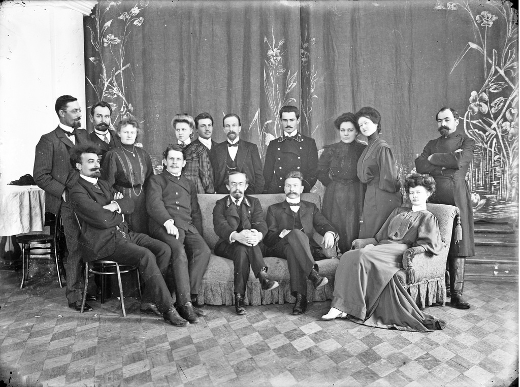 Групповое фото. 1911.