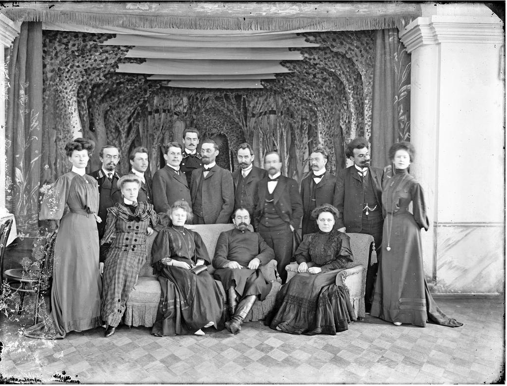 Групповое фото. 1911