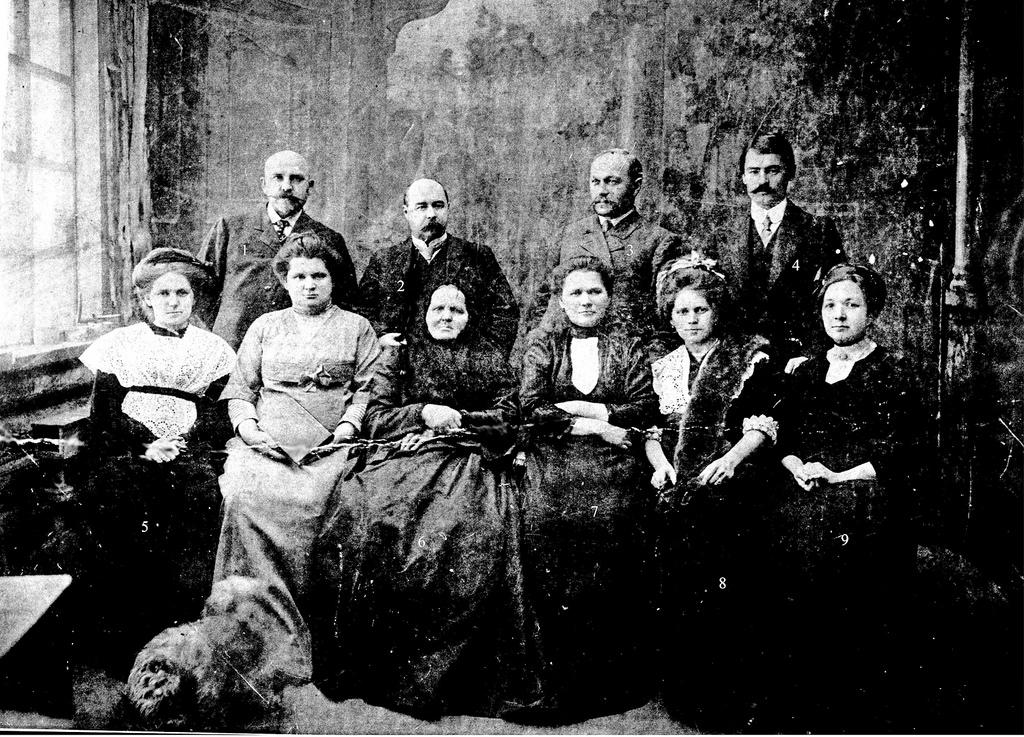 Семья Дубовых. 1913