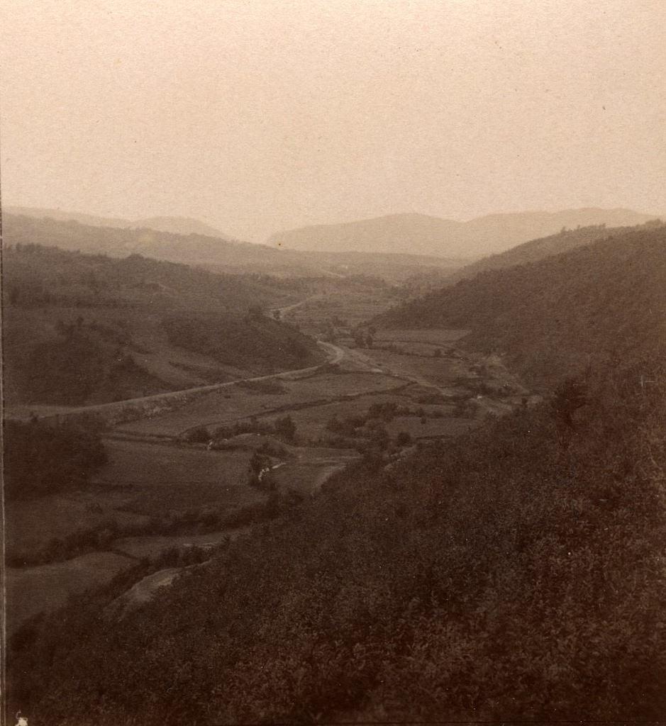 Долина Ткибули и река Скипа