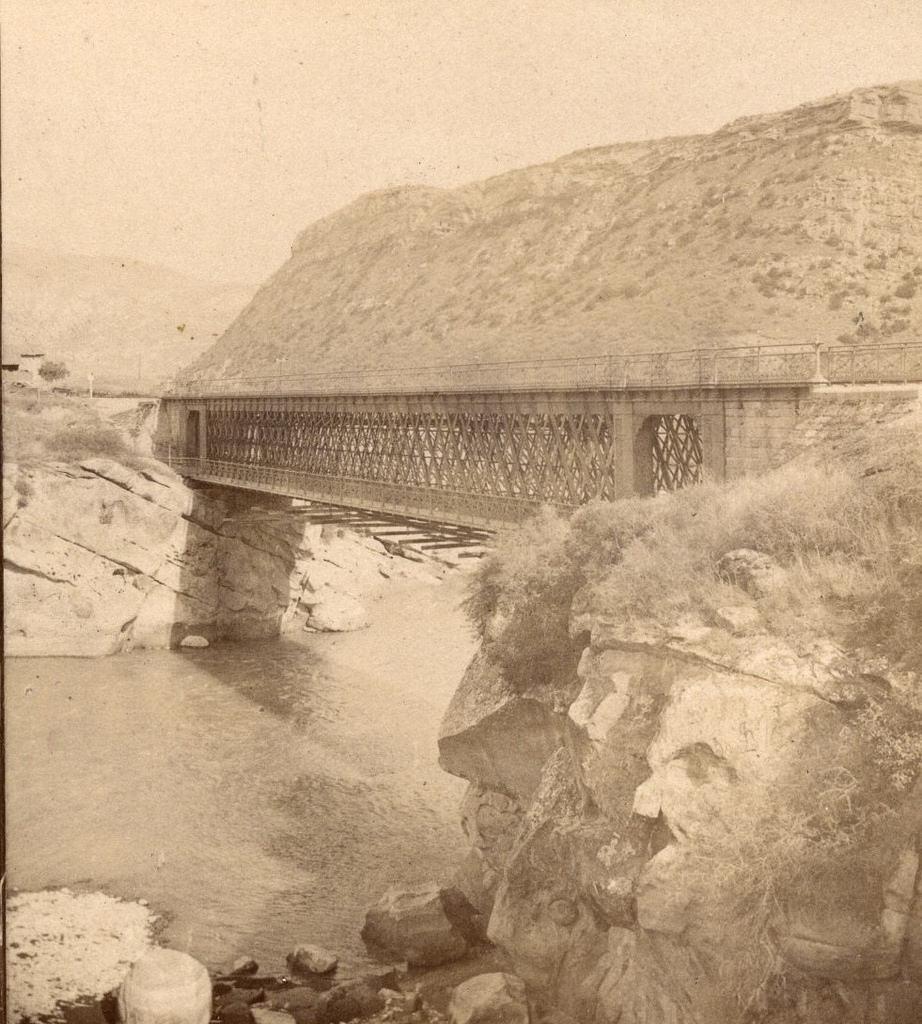 Мост через р. Куру за Овчалами