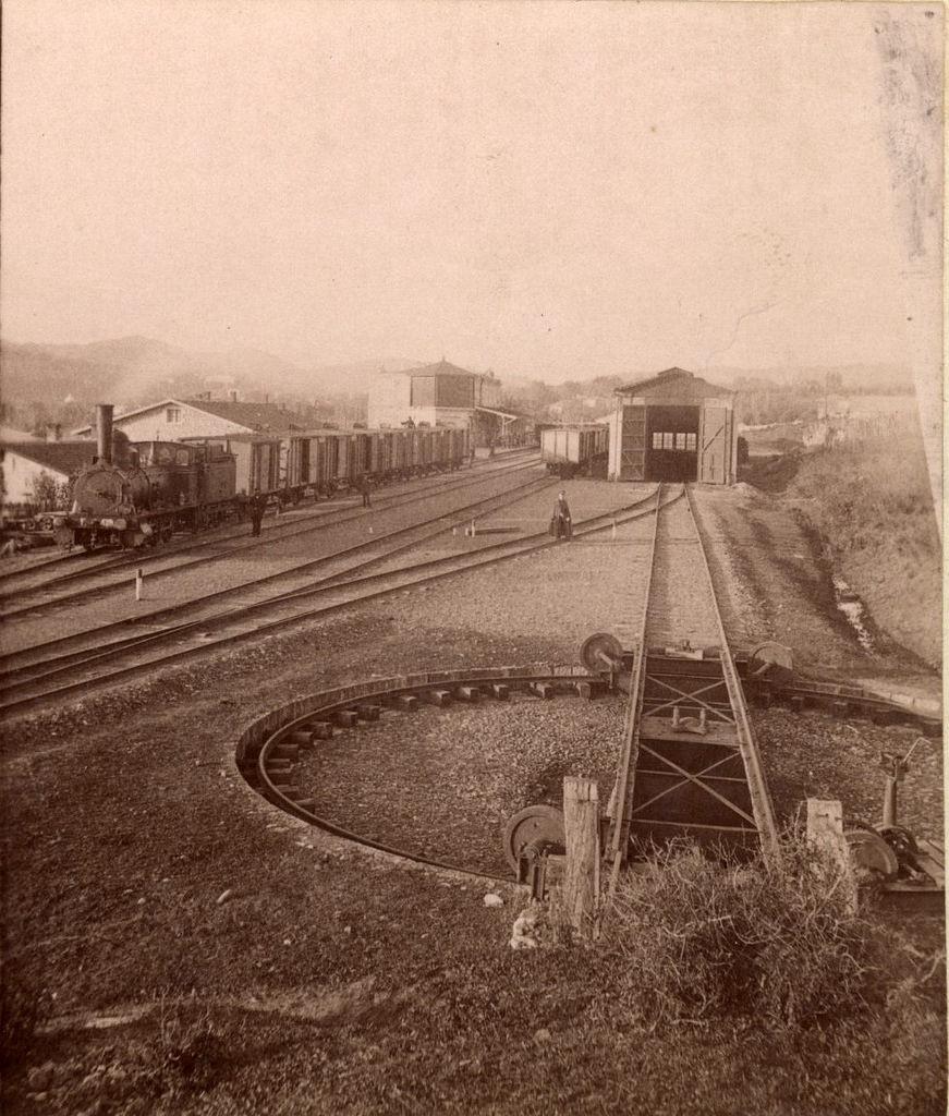 Общий вид станции Кутаис