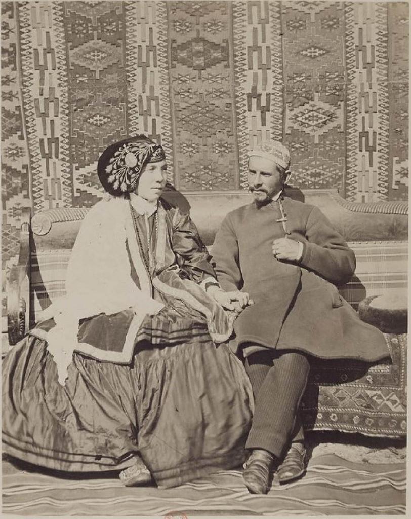 Казанская губерния. Татарская пара