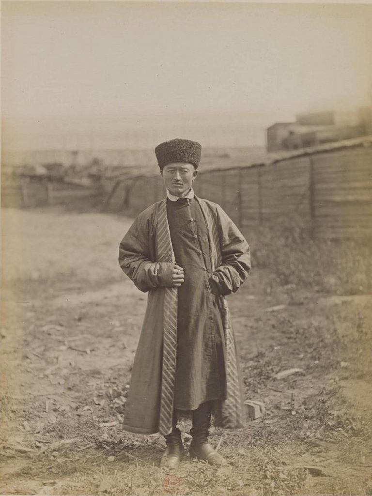 Казанская губерния. Татарский торговец