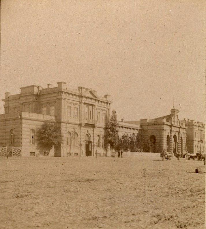 Станция Тифлис со двора